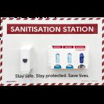 SS P10 Sanitisation Station