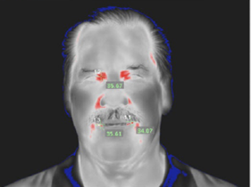 Thermal Image of Man