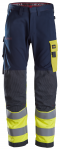 Snickers Workwear ProtecWork Work Trousers, High Vis Class 1