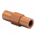 Copperbond earth rods couplings