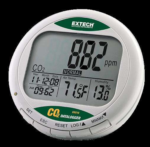 Extech CO210: Desktop Indoor Air Quality CO2